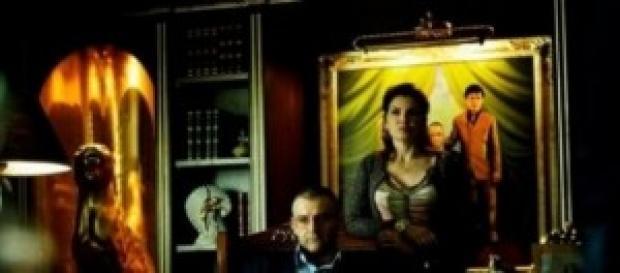 Don Pietro Savastano assieme alla moglie