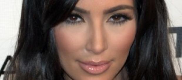 Kim Kardashian in Messico col marito
