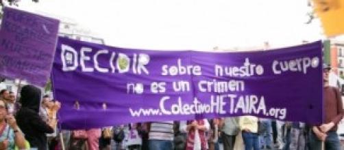 Aborto libre, cada vez mas proclamado en España