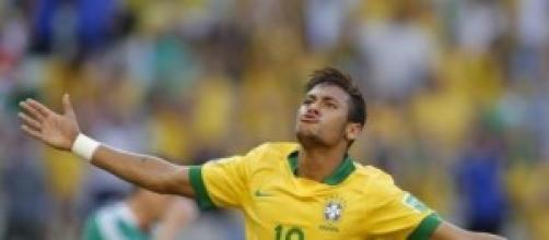 Neymar, autore di una doppietta