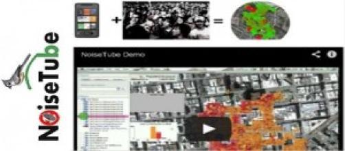 NoiseTube, l'App di Sony per rilevamento acustico
