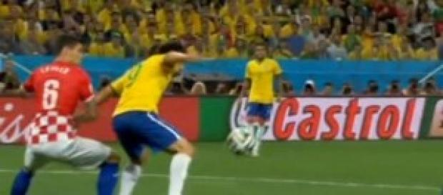 Ayer hubo la innauguracion Brasil-Croacia