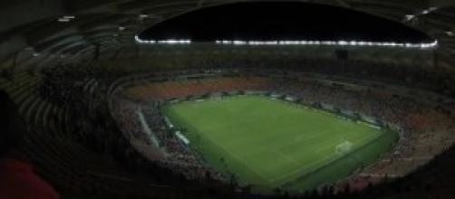 allarme bomba allo stadio di Manaus.