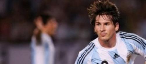 Lionel Messi stella dell'Argentina