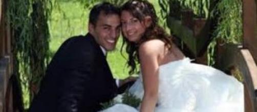 Carlo Lissi e la moglie Cristina Omes