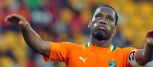 Didier Drogba, stella della Costa d'Avorio