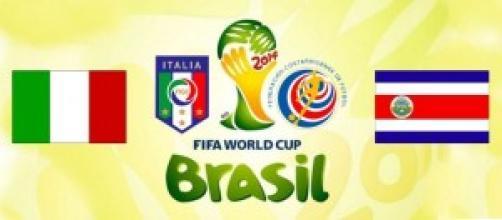 Mondiali Brasile 2014, Italia vs Costa Rica: quote