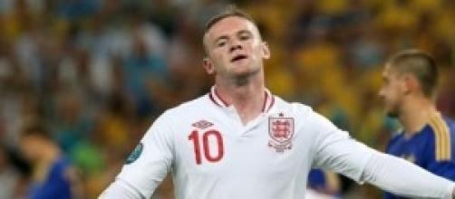 Wayne Rooney, attaccante dell'Inghilterra