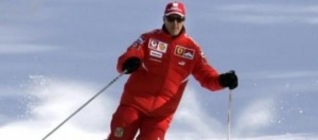 Michael Schumacher sale del coma.