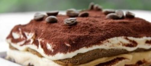 Immagine del dolce più amato, il Tiramisù.
