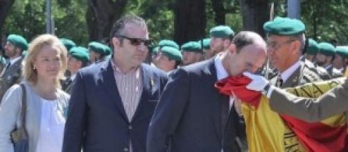 J.J. Corpas Mauleón, apunto de re-jurar bandera