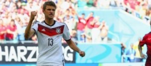 Thomas Muller, 3 gol per lui contro il Portogallo