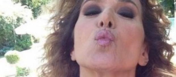 Gossip news, Barbara D'Urso, seno in evidenza