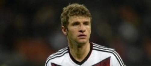 Thomas Muller, l'attuale capocannoniere con 3 reti