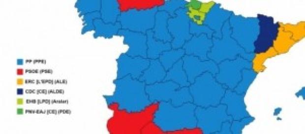 Resultados de las europeas de 2014