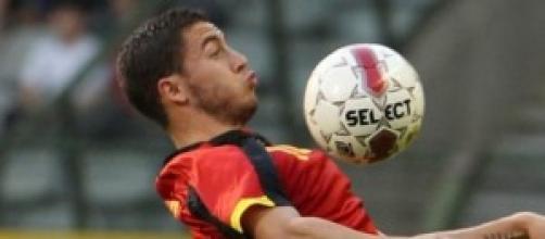 Eden Hazard attaccante del Belgio