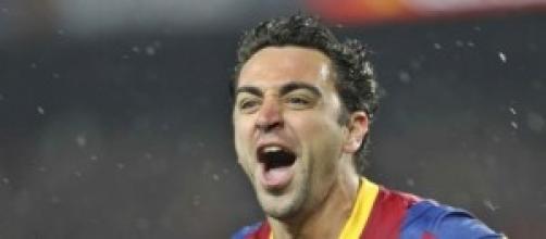 Xavi saluta il Barcellona