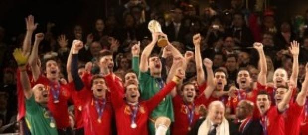 España gana el mundial de Sudáfrica