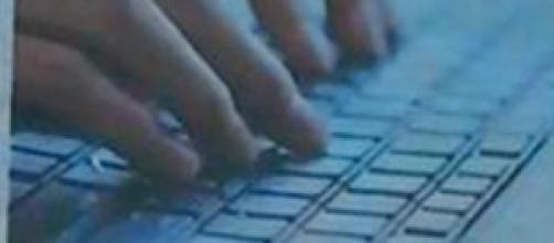la tastiera di un computer