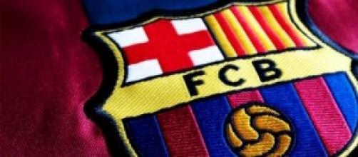 Stemma del Barcellona sulle maglie