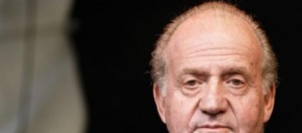Roi Juan Carlos Borbon d'Espagne