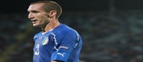 Giorgio Chiellini difensore Italia
