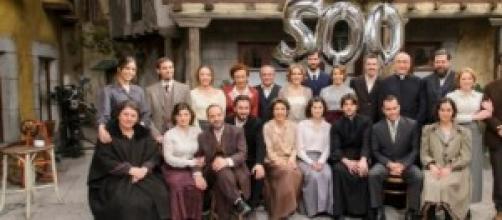 Il cast al completo della telenovela
