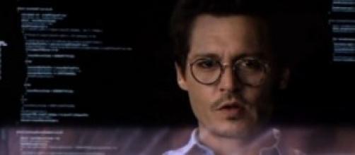 "Johnny Depp en ""Transcendence"""