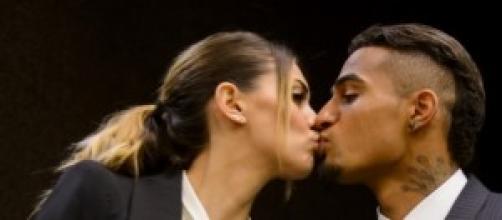 Melissa Satta difende il suo amore con Boateng