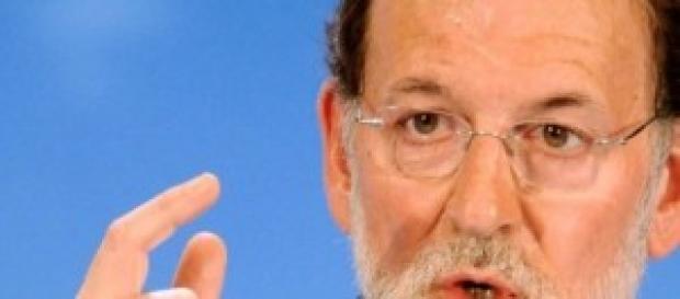 Mariano Rajoy durante una comparecencia pública.