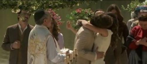 Anticipazioni il segreto, bacio Pepa e Tristan