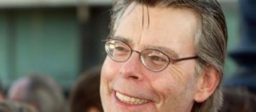 El maestro Stephen King en un primer plano.