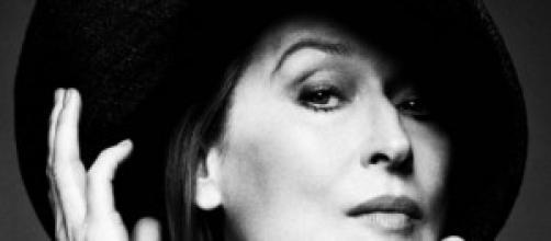 Primer plano de Meryl Streep