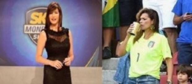 Ilaria D'Amico, Alena Seredova e Gigi Buffon
