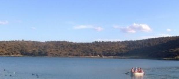 Vista de las Lagunas de Ruidera