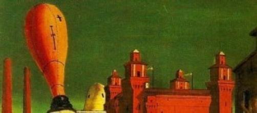 """De Chirico - """"Le Muse inquietanti"""" - particolare"""