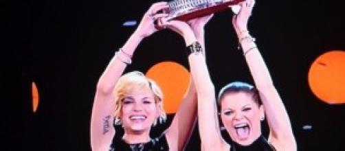 Emma e Alessandra al top nella musica non in amore