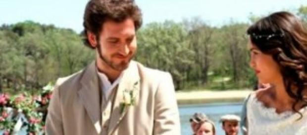 Pepa e Tristan si sposano.