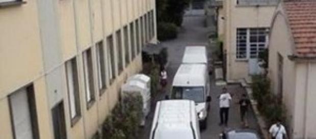 Sede della Lega Nord in via Bellerio