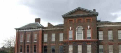 El palacio de Kesington visto desde un lateral