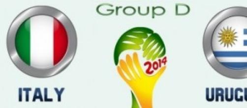 Gruppo D: Italia-Uruguay 0-1