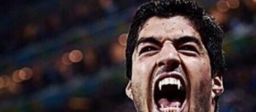 I denti che Suarez ha affondato su Chiellini