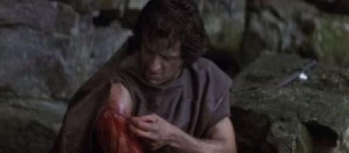 Screenshot youtube: Rambo, con Sylvester Stallone