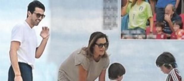 Gossip, Gigi Buffon, Alena Seredova e i figli
