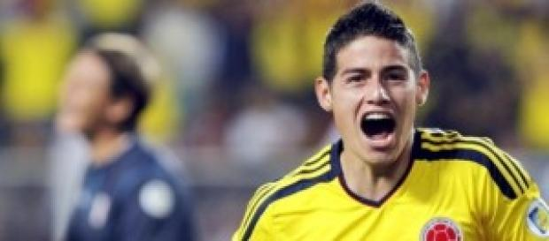 James Rodriguez, mejor jugador del partido