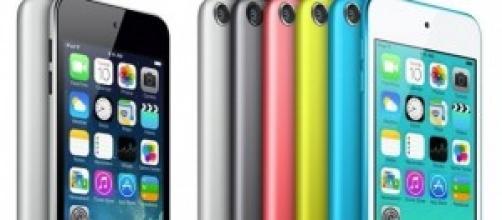 6 possibili colori per l'iPod a basso costo