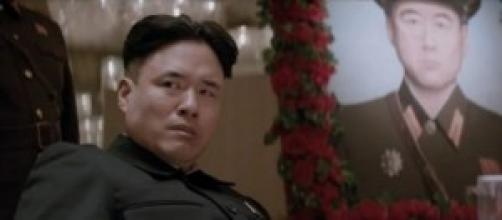 """Kim Jong Un nel film """"The Interview"""""""