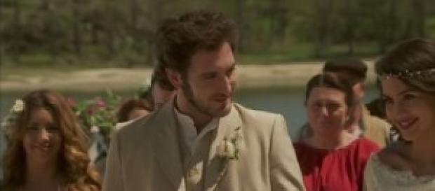 Il Segreto: Pepa e Tristan finalmente sposi