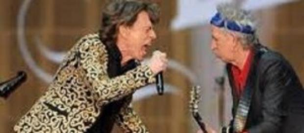 Rolling Stones in concerto