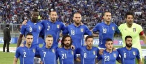 I calciatori dell'Italia volano in vacanza